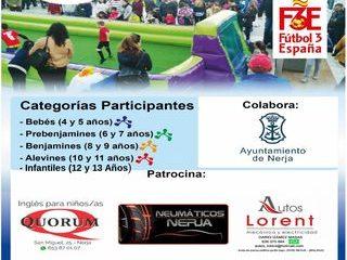 TORNEO NACIONAL FUTBOL 3X3 PLAYA BURRIANA - Sábado 17 de Agosto