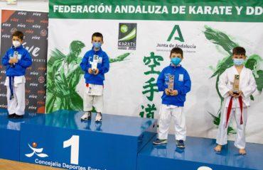 El Club A.K.A (kárate Axarquía) logra por primera vez clasificar a 10 karatecas para campeonato de España.